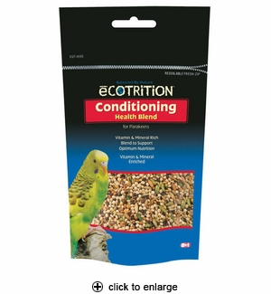8in1 Ecotrition Conditioning Health Blend for Parakeets 8 oz.