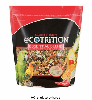 8in1 Ecotrition Essential Blend for Parrots & Conures 5 lbs