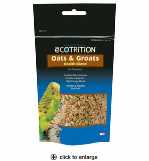 8in1 Ecotrition Oat Groats for Parakeets 8 oz
