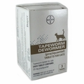 Bayer Tapeworm Dewormer Tablets for Cats 3ct