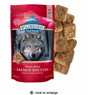 Blue Buffalo Wilderness Trail Treats Salmon Biscuits 10 oz