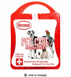 Boss First Aid Pet Care Kit Large