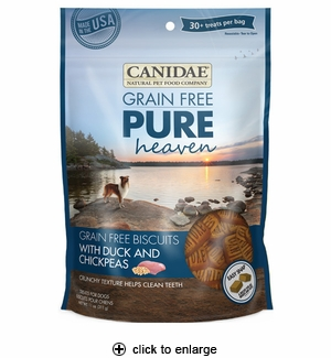 Canidae Pure Heaven Dog Treats Duck & Chickpeas 11oz