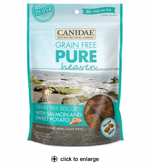 Canidae Pure Heaven Dog Treats Salmon & Sweet Potato 11oz
