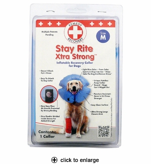 Cardinal Stay Rite Xtra Strong Inflatable Recovery Collar Medium