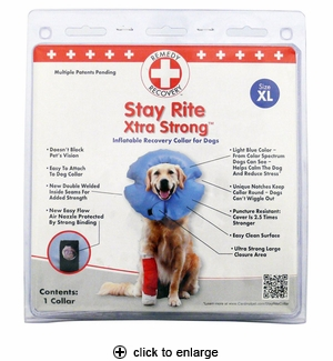 Cardinal Stay Rite Xtra Strong Inflatable Recovery Collar X-Large