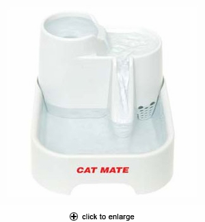 Cat Mate Pet Fountain for Cats & Small Dogs