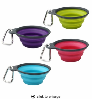 Dexas Popware Collapsible Pet Travel Cup Small