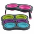 Dexas Popware Elevated Collapsible Pet Feeder Large