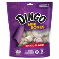 Dingo Mini Dingo Bone Dog Chews Jumbo Value Bag 35pk