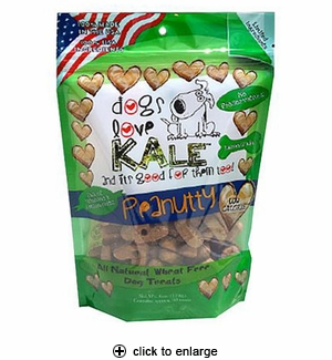 Dogs Love Kale Peanutty Dog Treats 6oz
