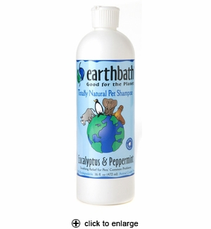 Earthbath Eucalyptus & Peppermint Dog & Cat Shampoo 16oz