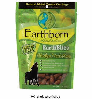 Earthborn Holistic EarthBites Dog Treat Chicken 7.5oz