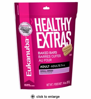 Eukanuba Healthy Extras Adult Small Breed Biscuits 14 oz