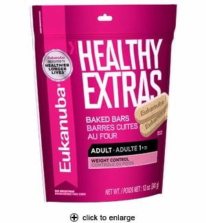 Eukanuba Healthy Extras Adult Weight Control Biscuits 12 oz