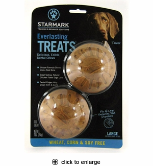 Starmark Everlasting Treats Wheat, Corn & Soy Free Large 2pk