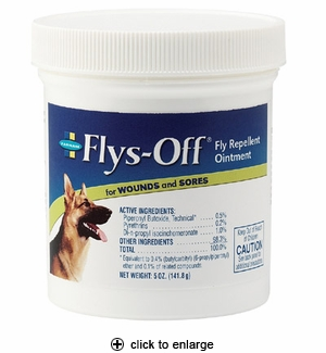 Farnam Flys-Off Fly Repellent Ointment 5 oz