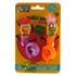 Fat Cat Springy Worms Catnip Toy 2pk