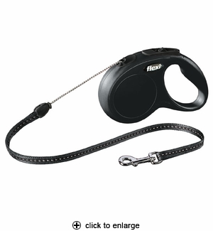 Flexi Classic SM Retractable Cord Leash 16 ft