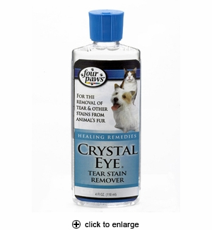 Four Paws Crystal Eye Tear Stain Remover 4 oz