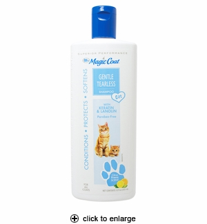 Four Paws Magic Coat Tearless Shampoo for Cats 12 oz