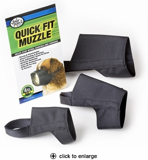 Four Paws Quick Fit Dog Muzzle Size 1
