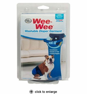 Four Paws Wee-Wee Diaper Garment Large