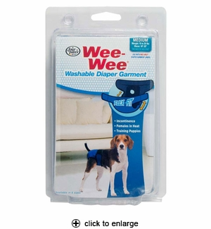 Four Paws Wee-Wee Diaper Garment Medium