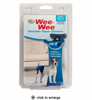 Four Paws Wee-Wee Diaper Garment Small