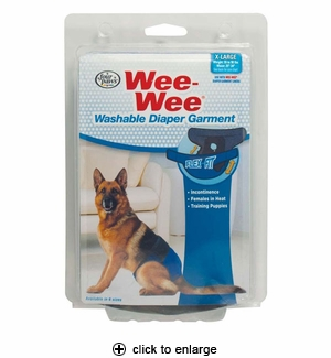Four Paws Wee-Wee Diaper Garment X-Large