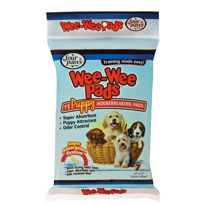 Four Paws Wee Wee Pads 7pk