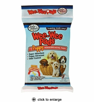 Four Paws Wee-Wee Pads 7pk.