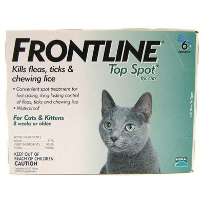 Frontline Top Spot For Cats And Kittens