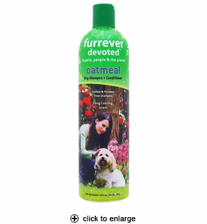 Furrever Devoted Oatmeal Dog Shampoo & Conditioner 16oz