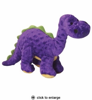 GoDog Dino Bruto the Brontosaurus Plush Dog Toy Large