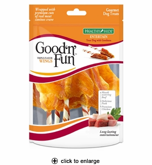 Good 'n' Fun Triple Flavor Wings 8oz
