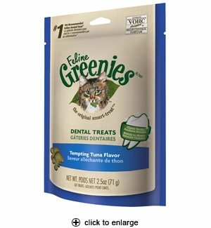 Greenies Feline Greenies Tempting Tuna Flavor 2.5oz