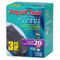 Hagen AquaClear 20 Activated Carbon Insert 3pk #A-1380