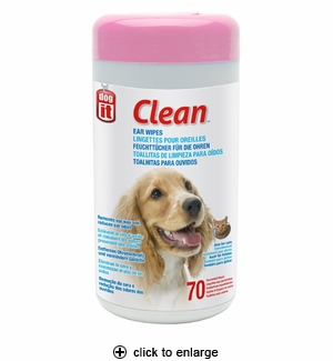 Hagen Dogit Clean Ear Wipes 70ct