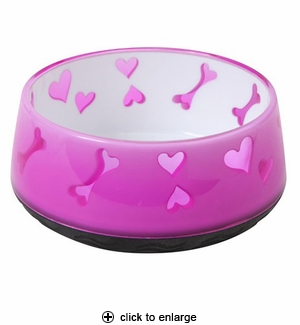 Hagen Dogit Non-Skid Bowl Small Pink