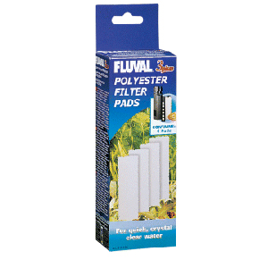 Hagen Fluval 3 Plus Polyester Filter Pads 4pk #A-191