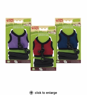 Hagen Living World Small Animal Harness & Lead Small