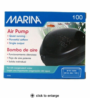 Hagen Marina 100 Aquarium Air Pump