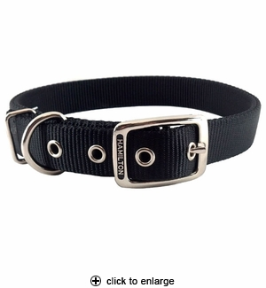Hamilton D/T Deluxe Nylon Dog Collar 1