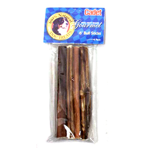 cadet 6 bully stick dog treat 4pk. Black Bedroom Furniture Sets. Home Design Ideas