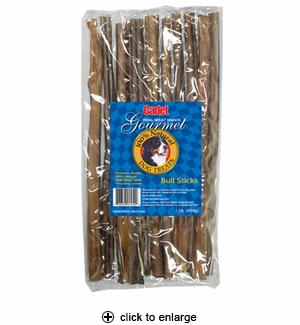 Cadet Bully Sticks Dog Treats Large 1 lb.