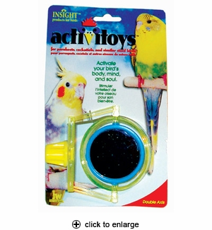 JW Pet ActiviToys Double Axis