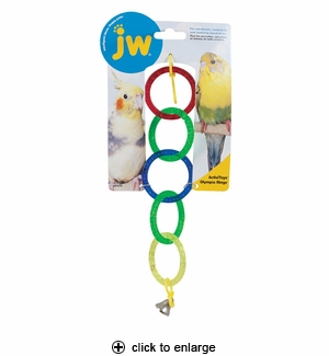 JW Pet ActiviToys Olympia Rings