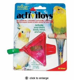 JW Pet ActiviToys Tilt Wheel