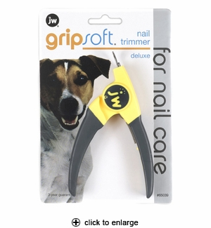 JW Pet GripSoft Nail Trimmer Deluxe for Dogs